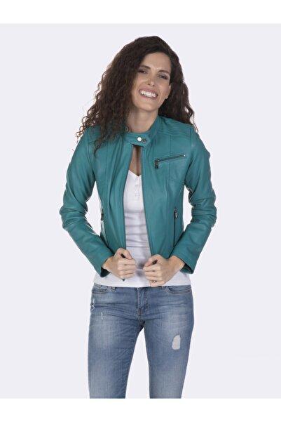 Giorgio Di Mare Kadın Deri Ceket