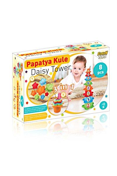 Furkan Toys 3'ın1 Papatya Kule Seti