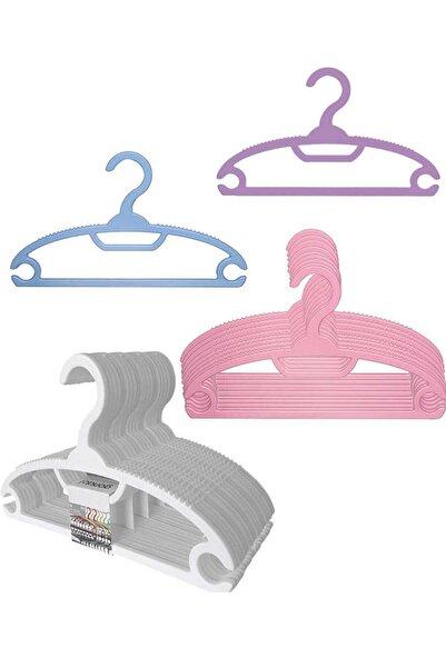 Gondol Lily 6'lı Bebek Elbise Askısı - G93 Pembe Renk
