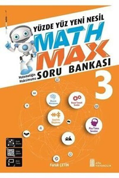 Ata Yayıncılık 3. Sınıf Math Max Soru Bankası