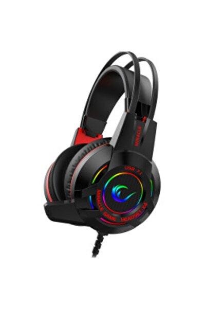 Rampage Kulaklık Miracle-x4 Siyah Rgb Led 7.1 Surround Sound System Mikrofonlu Oyuncu Kula