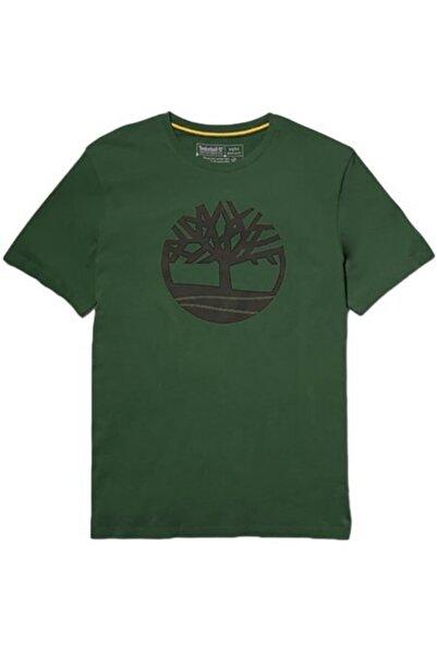 Timberland Ss Kennebec Rıver Tree Lo Yeşil Erkek T-shirt - Tb0a2c2rj74