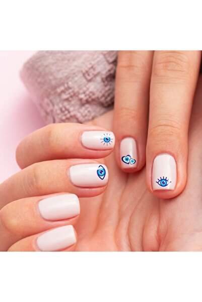 Artikel Göz Tırnak-3 Dövmesi Tırnak Tattoo Nail Art Tırnak Sticker