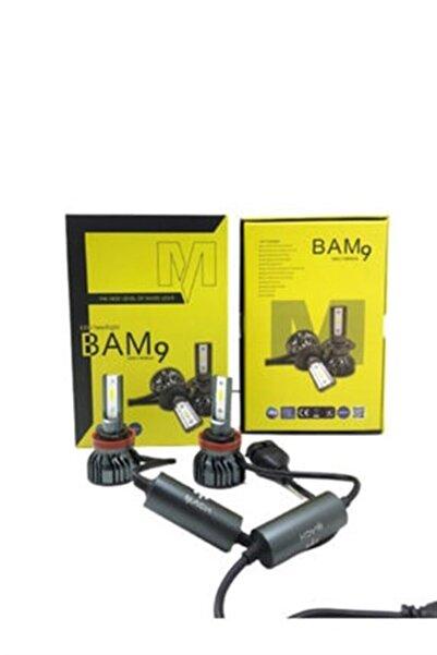 Mach Bam9 H4 Arıza Işığı Yakmaz 10800lm 50wat Mini Kasa Led Xenon