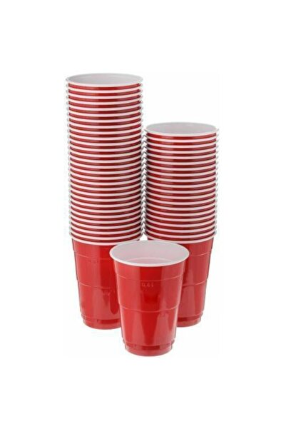 Huhtamaki Kırmızı Parti Bardağı 400ml 20 Adet X 3 Paket