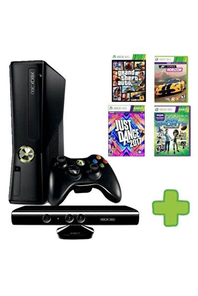 MICROSOFT Xbox 360 - Kinect Kamera - 30 Oyun - 250 Gb
