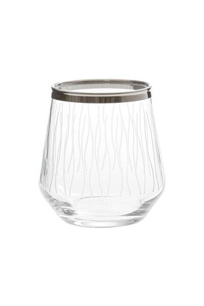 Paşabahçe West Glass Allegra 6'lı Platin Kaplama Kahve Yanı Su Bardağı