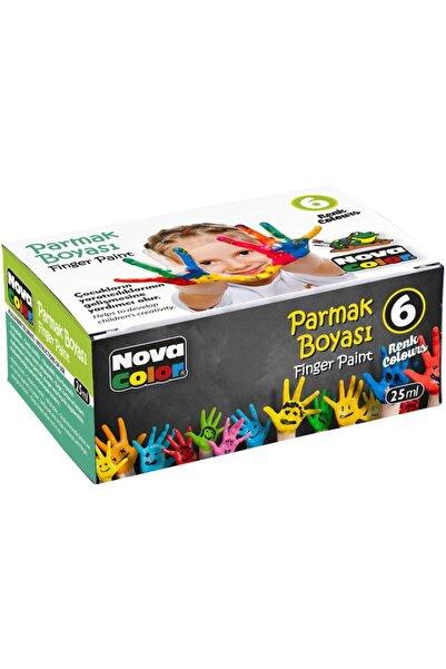 Nova Color 6 Renk Parmak Boyası