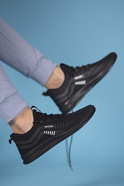 Riccon Siyah Siyah Unisex Sneaker 00125023