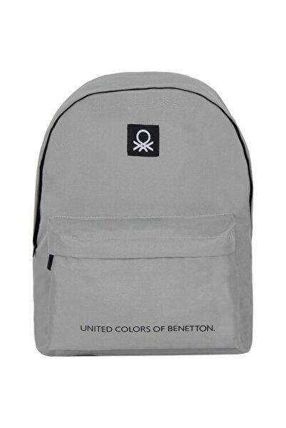 United Colors of Benetton Sırt Çantası 70689 Gri