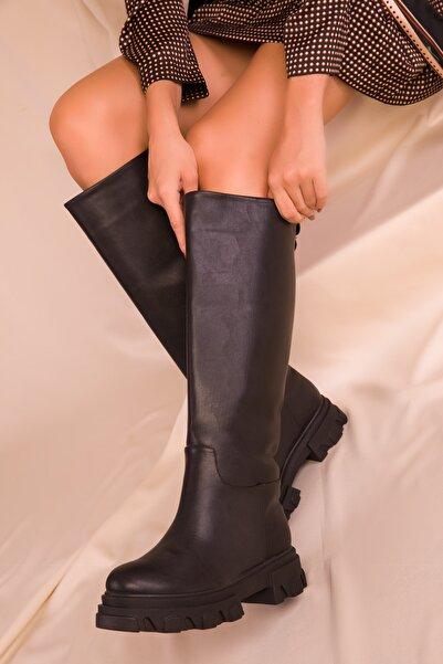 SOHO Kadın Siyah Çizme 16514