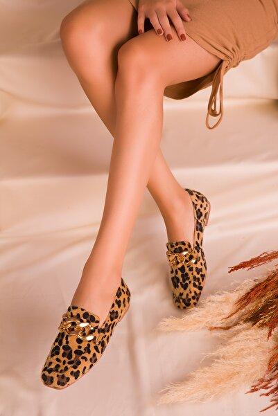 SOHO Kadın Leopar Babet 16503