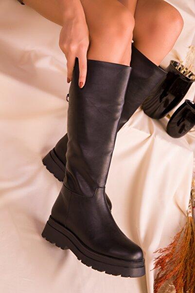 SOHO Kadın Siyah Çizme 16515