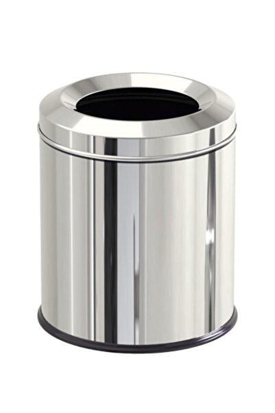 Maxiflow Çelik Yanmaz Çöp Kovası 8 Litre