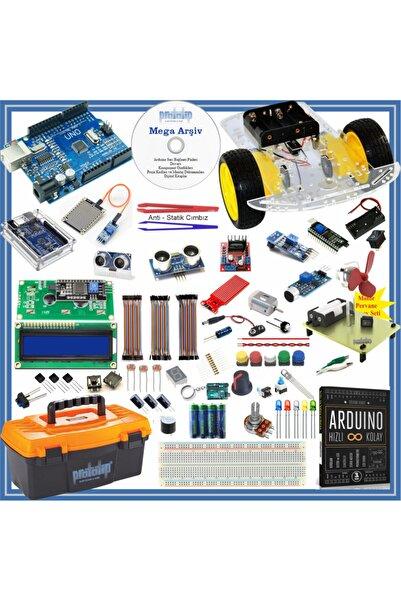 Arduino Başlangıç Seti Uno R3 105 Parça 327 Adet