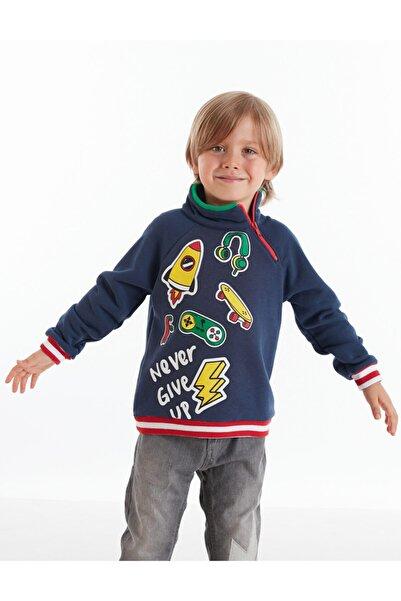 Mushi Never Fermuarlı Erkek Çocuk Sweatshirt