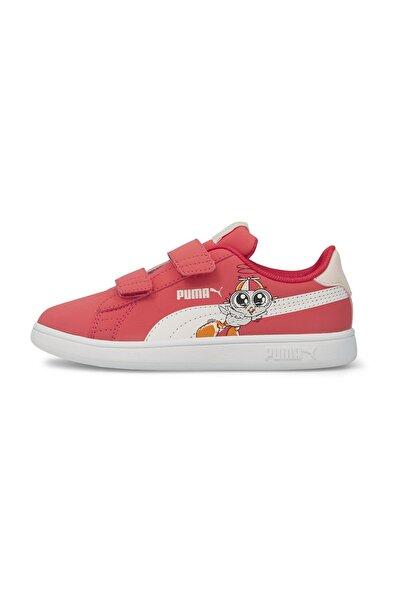 Puma Smash V2 Lil V Kids Trainers Çocuk Spor Ayakkabı 380904 03