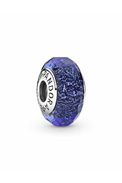 Pandora Işık Yayan Mavi Murano Cam Charm