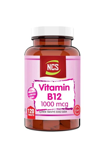 NCS Vitamin B12 ( Metilkobalamin ) 1000 Mcg 120 Tablet