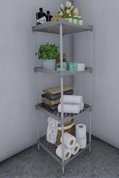 CimriKese Plastik Banyo Balkon Mutfak Için Düzenleyici Çiçeklik Ayakkabılık Çok Amaçlı Raf Ünitesi