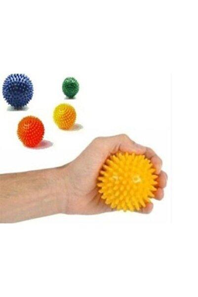 Tam12 Dikenli Masaj Topu El Parmak Kas Egzersiz Avuç Içi Akupunktur Stres Topu