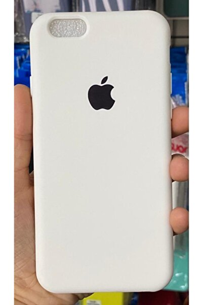 Go Aksesuar Iphone6 / 6s Uyumlu Logolu Beyaz Lansman Içi Kadife Aa Kalite