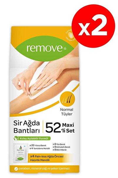 remove Sir Ağda Bant 52'li Normal Tüy X2 Adet