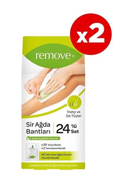 remove 24'lü Sir Ağda Bantları Inatçı Ve Sık Tüyler X2 Adet