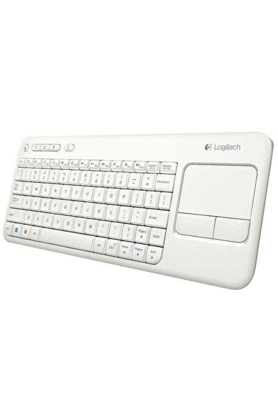 logitech K400r Dokunmatik Kablosuz Beyaz Smart Tv Klavye 920 005885