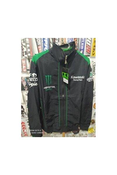 Kawasaki Motorcu Montu,motosiklet Mont,ince,mevsimlik,rüzgarlık