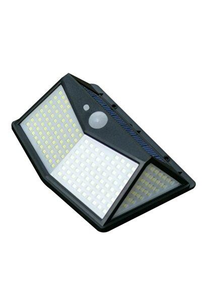 SpySoft 212 Led Solar Güneş Enerjili Hareket Sensörlü 4 Taraflı Bahçe Garaj Ev Aydınlatma Lambası 2x2400mah