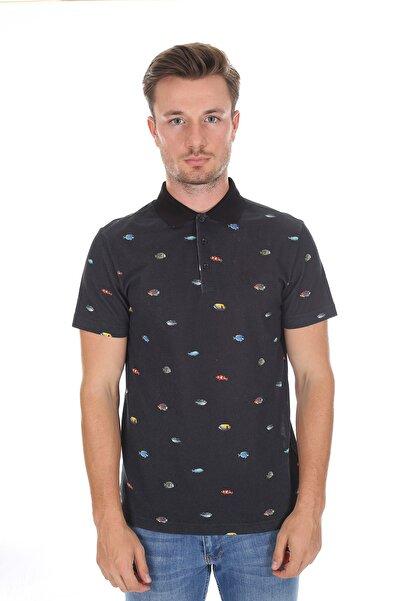 Diandor Polo Yaka Erkek T-shirt A.siyah/l.black 2117200