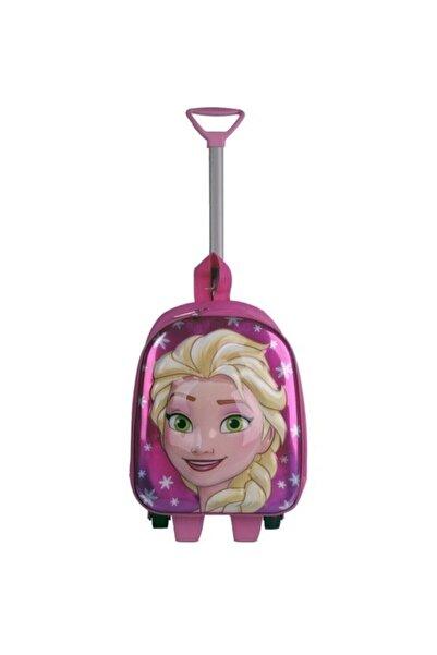 Hızırım Frozen Elsa  Çekçekli Çocuk Sırt Çantası