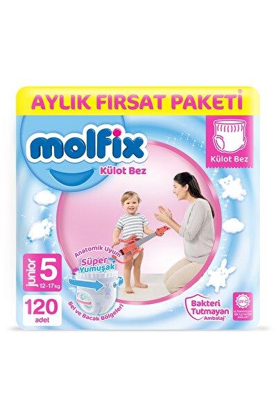 Molfix Külot Bez 5 Beden Junior Aylık Fırsat Paketi 120 adet