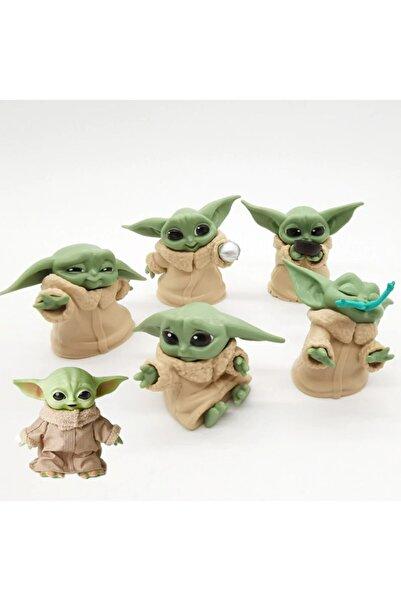 NETAVANTAJ Star Wars 6lı Baby Yoda Figür Seti