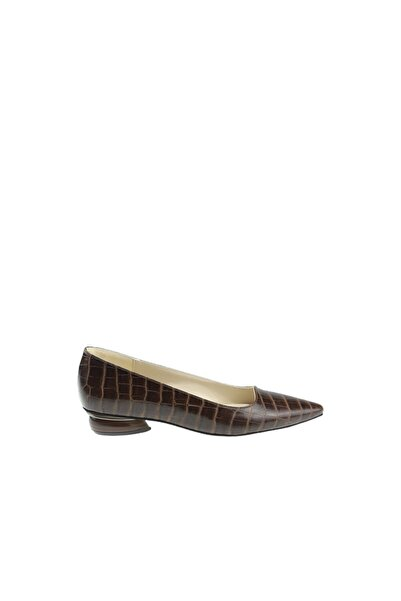 DENİL Kadın Stiletto Kısa Topuklu Özel Üretim Ayakkabı
