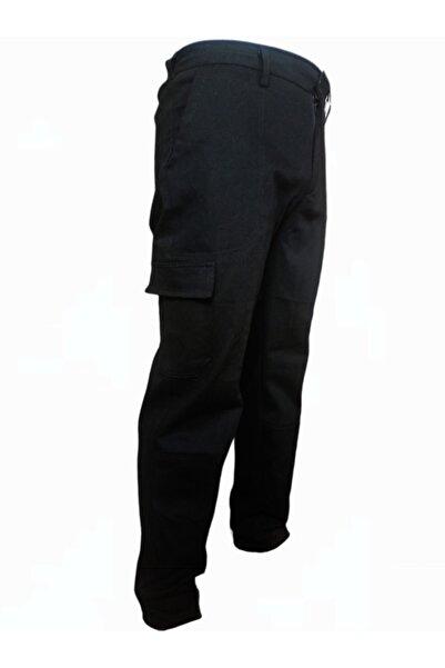 Özteks Tekstil Iş Pantolonu Siyah Komando Cepli