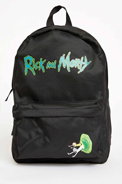DeFacto Rick And Morty Lisanslı Sırt Çantası