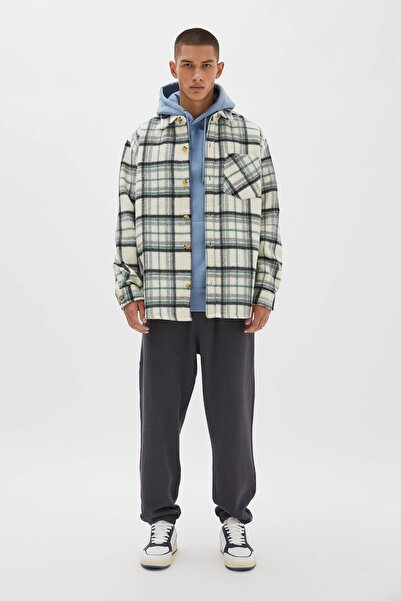 Pull & Bear Lacivert Jogging Fit Pantolon