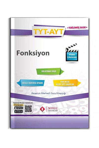 Sonuç Yayınları Tyt-ayt Fonksiyonlar 2021-2022