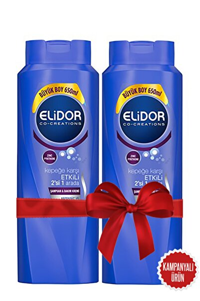 Elidor Kepeğe Karşılı Etkili 2in1 Ikili Fırsat Paketi 2 Adet