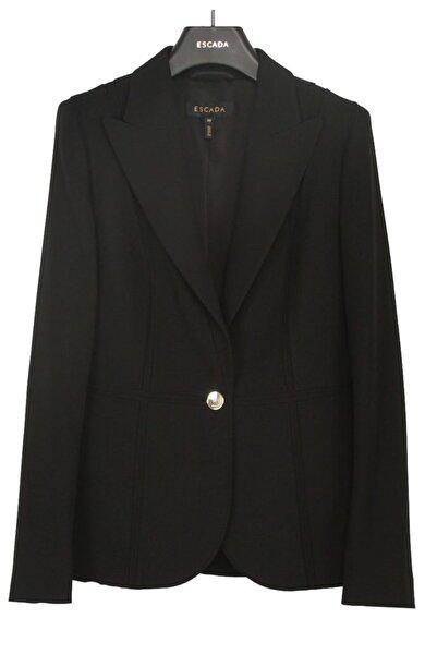 Escada Kadın Siyah Ceket