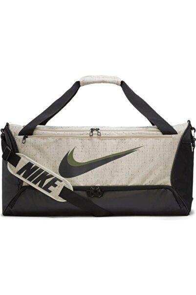 Nike Nk Brsla M Duff- 9.0 Mtrl Slub Unisex Siyah Spor Çantası - Cu9511-210