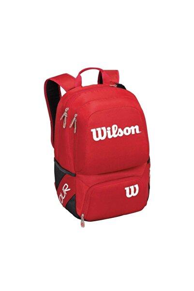 Wilson Tour V Kırmızı Tenis Sırt Çantası