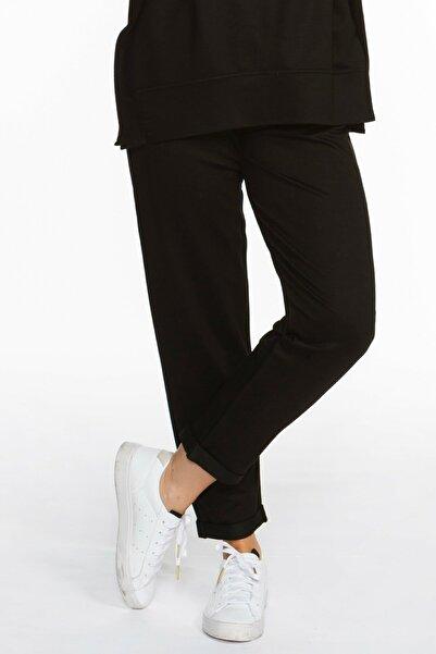 BASIC&CO Kadın Rhea Siyah Jogger Pantolon