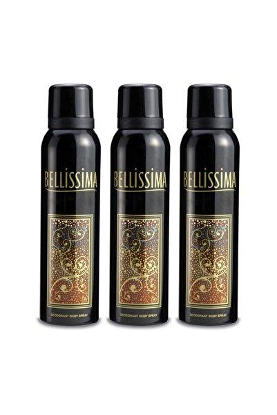Bellissima Kadın Deodorant 3x150ml
