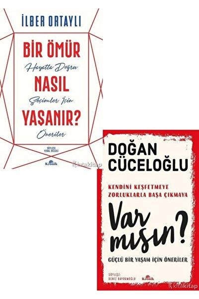 Dipnot Yayınları Bir Ömür Nasıl Yaşanır? - Var Mısın ? - Doğan Cüceloğlu - Ilber Ortaylı 2 Kitap Set