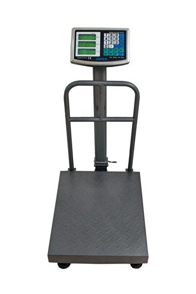 joker 300 Kğ Elektronik Terazi Şarjlı Kantar Arka Korumalı Tartı 40x50 Cm Tabla Fiyat Hesaplamalı