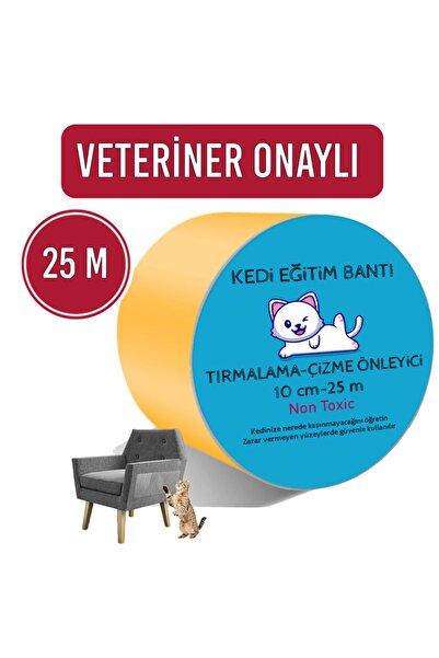 Petköy Kedi Eğitim Bandı, Mobilyalar Için Tırmalamaya Karşı Önleyici, %100 Şeffaf, Non-toxic,10cm X 25m