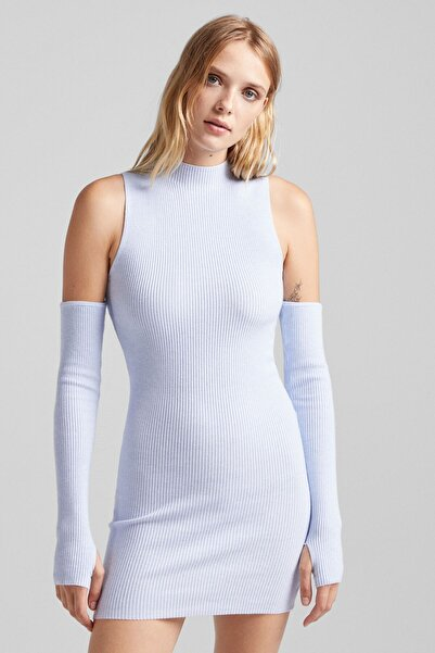 Bershka Ayrı Kollu Mini Elbise